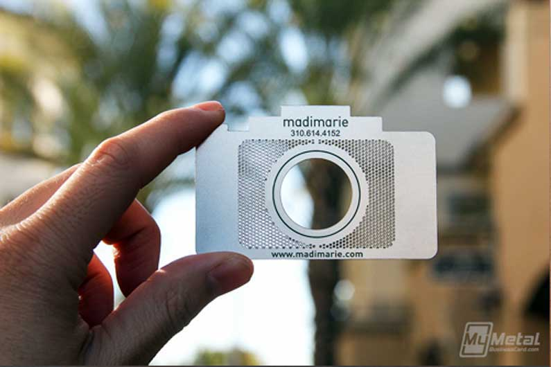 5 Awesome Photographer Business Cards