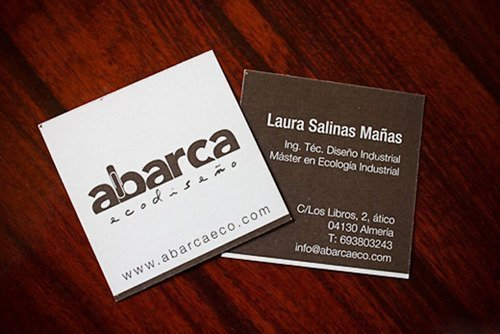 5 Cool Square Business Cards