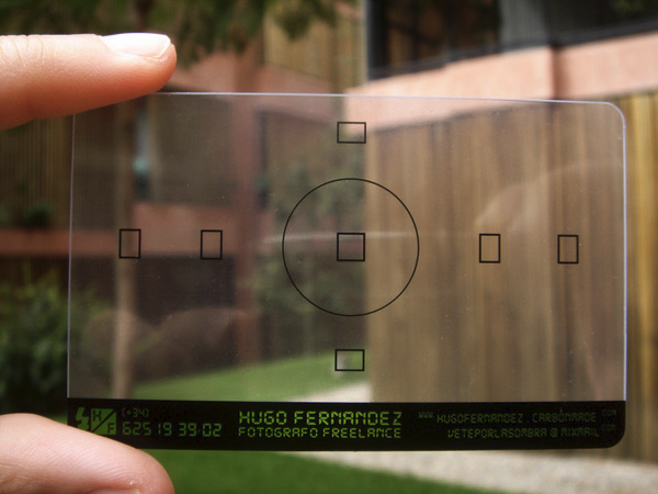 5 Transparent Business Cards You Can't Help But See